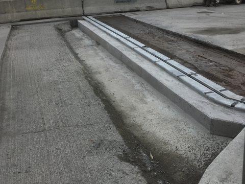 Réparation des joints du pont sur la route 112 au dessus de la rivière st-francois a Sherbrooke (1)