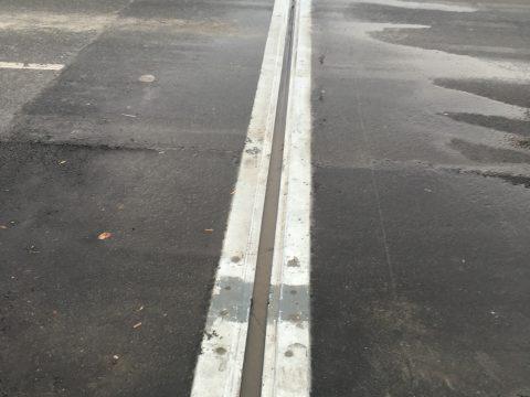 Réparation des joints du pont sur la route 112 au dessus de la rivière st-francois a Sherbrooke (2)