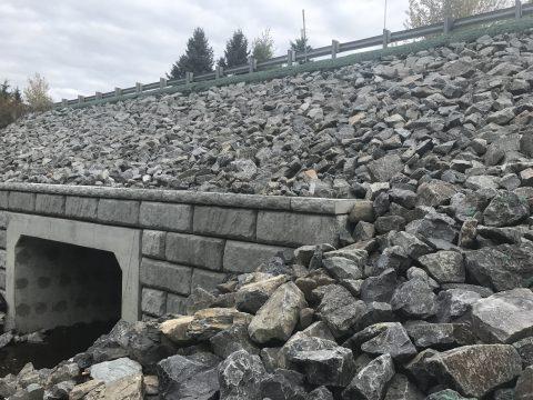 Réparation du pont sur la route 283 au dessus du Ruisseau Dominique a St-Paul-de-montminy (2)
